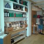 L'entrada d'El Racó a Sitges...Pizzeria Mmmmediterrànea