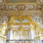 Grand Staircase Peterhof Palace