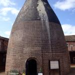 The bottle oven which now houses the museum