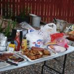 Barbeque dinner free to guest on 4th of July