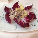 Octopus and potato salad