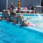 Pool outdoor and indoor