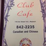Club Cafe resmi