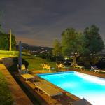 notturna sulla piscina
