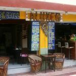 Aluxes Coffee Shop on Matamoros just off Hidalgo
