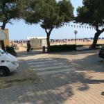 Sabbiadoro beach area from Hotel