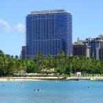 Trump Waikiki overlooking the Pacific Ocean