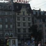 just look for the Campari sign!