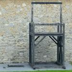 The gallows at the Old Jail