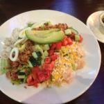 Gordon Biersch Brewery - seafood chop salad