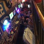 Bar from upstairs