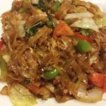 Drunken Noodles w basil flavoring