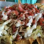 White trash nachos