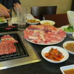 Korean BBQ Combo for two