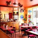 La salle coté bar
