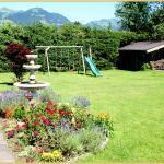 Pension FOIDL;im Gastgarten
