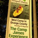 Camp across the street