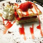 #Millefeuilleauxfraises#dessertdujour#IrishCorner