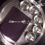Thali (Plate) with bowls