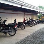 Motorsykklene