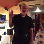 David, our favorite waiter.