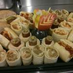 Platters, buffets etc.  Whatever you want, whenever you want it!