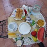 My lovely breakfast.