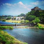 Our ryokan in Kanazawa