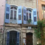 façade de la maison d'hôtes