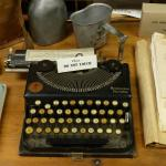 type up these orders - Yes sir! - Early word processor