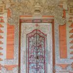 Porte d'entrée d'une chambre