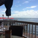 Great restaurant for fresh seafood and fantastic views! Frequent sightings of Dolphins! The staf