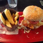 Cod burger.