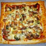 Leftovers used to create a tasty pizza