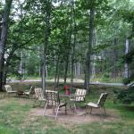 Picnic area, peaceful environment