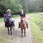 Great day horseback riding