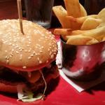 the wild fire bbq burger