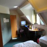 Our room 17ft x 12ft