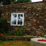 Lateral de la casa desde el jardín