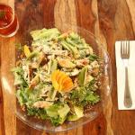 Summer Salad and Cold Tea