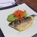 fish, main plate