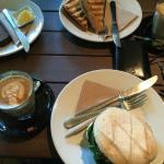Breakfast at Bellissimo Coffee