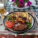 Steak at Lainey's