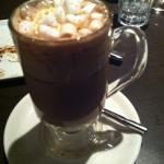 Lovely hot chocolate