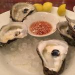 Oysters appetizer - forgot to take a photo before we devoured them!
