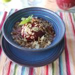 Donna's Amazing Culinary Breakfast Experience - Poached Plum, Oats, and Yogurt
