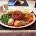 Nice roast turkey , nice places, nice service , so loved it