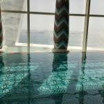 Indoor pool on 18th floor