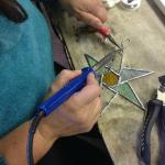Stained Glass Workshop in the Gallery