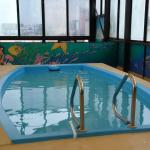 Pool on top floor